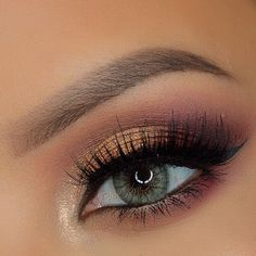 Beautiful autumn eye look on House of Lashes on IG Kiss Makeup, Beauty Makeup, Hair Makeup, House Of Lashes, How To Do Makeup, Stunning Makeup, Makeup Designs, Makeup Ideas, Eye Make Up