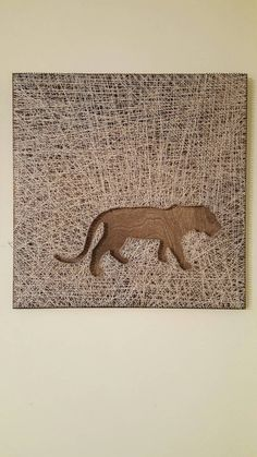 Check out this item in my Etsy shop https://www.etsy.com/listing/408381931/tiger-walking-string-art