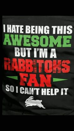 Rabbits In Australia, I Cant Help It, Rugby League, Funny Texts, Sydney, Madame Butterfly, Sports Logos, Football, Birthday