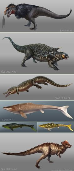 Saurian Concept Art by arvalis monster beast creature animal | Create your own roleplaying game material w/ RPG Bard: www.rpgbard.com | Writing inspiration for Dungeons and Dragons DND D&D Pathfinder PFRPG Warhammer 40k Star Wars Shadowrun Call of Cthulhu Lord of the Rings LoTR + d20 fantasy science fiction scifi horror design | Not Trusty Sword art: click artwork for source