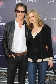 Kevin Bacon and wife Kyra Sedgwick at the Annual Stuart House Benefit, John Varvatos Boutique, West Hollywood, CA, USA March 2009 Sara De Boe. Stuart House, Kyra Sedgwick, Kevin Bacon, Couple Shots, Famous Couples, John Varvatos, Celebs, Celebrities, Man In Love