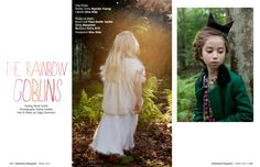 The Rainbow Goblins   #fashion #editorial #babiekins #magazine