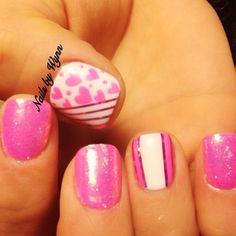 VALENTINE by jeniferdinh #nail #nails #nailart