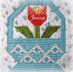 Garden Block for Tamiko by Charise *, via Flickr