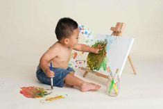 little painter first birthday