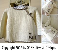 Baby cross over jacket P008 by OgeDesigns on Etsy