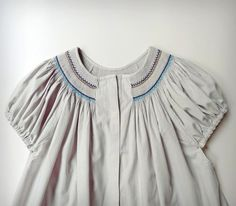 Smocked blouse - Anna Fabó