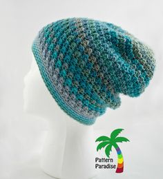 Crochet Julia's Hat This Neat Hat is available in newborn through adult sizes. Enjoy this Crochet Julia's Hat Pattern by Pattern Paradise! Click on the Link for the Pattern, if you have any questions, please ask the designer on their site. Thanks