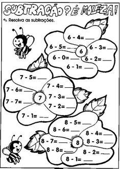 Kindergarten Math Worksheets, School Worksheets, Teaching Math, Play School Activities, Dyslexia Activities, Special Education Math, Niklas, Kids English, Math Addition