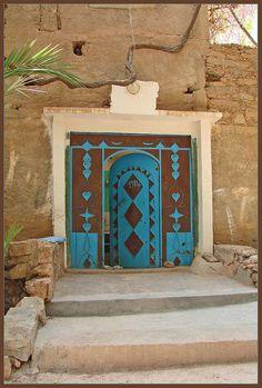 Africa | Splendid door in Amtoudi. Morocco. | © mhobl on flickr