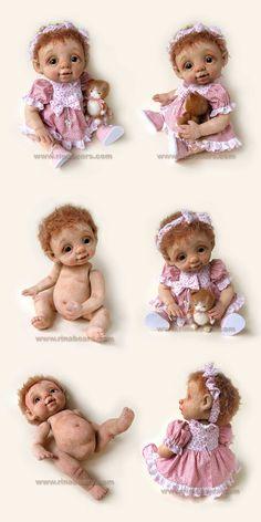 needle felted doll
