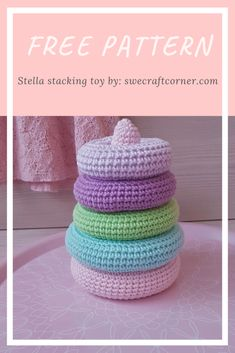 Thought i would share a pattern with all of you, for free!The pattern is available as an ad free, printable Crochet Baby Toys, Crochet Amigurumi, Crochet Toys Patterns, Crochet For Kids, Stuffed Toys Patterns, Crochet Crafts, Crochet Dolls, Crochet Projects, Free Crochet