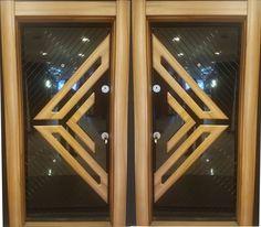 Modern Wooden Doors, Wooden Door Design, Main Door Design, Entrance Gates, Main Entrance, Door Design Interior, House Doors, Front Doors, Ali