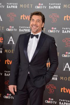 Javier Bardem attends Goya Cinema Awards 2016 at Madrid Marriott Auditorium on February 2016 in Madrid, Spain. Javier Bardem, At Madrid, Star Wars, Penelope Cruz, A Good Man, Sexy Men, Suit Jacket, Cinema, Actors
