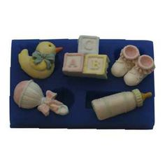 Silicone Moulds Mini Baby Set B191 FIRST IMPRESSIONS MOLDS