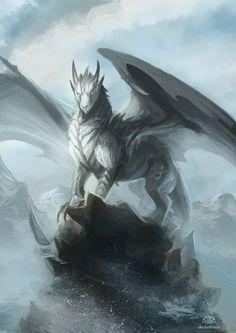 Dragón Blanco Noble