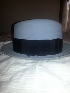 a93e1bd3 Stetson homburg from the 50's. Homburgs do not fetch the price of fedoras.  I sold this for $100.00 at auction