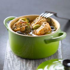 Découvrez la recette du ragout de veau aux olives