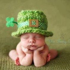 Blarney Baby... I love this but I know when the kid hits teenage years they will hate us for doing this haha