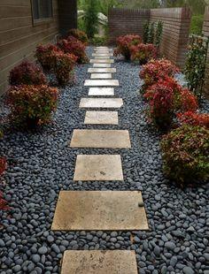 John Beaudry Landscape Design - La Mesa, CA, United States. Mediterranean Garden Front Path