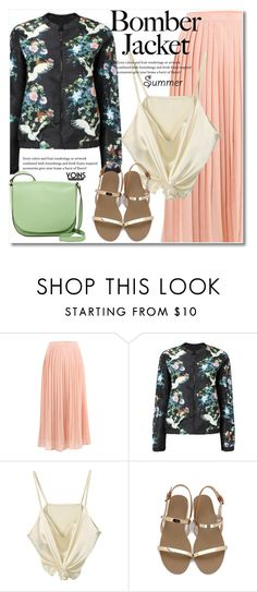 """""""Light Topping: Summer Bomber Jackets"""" by svijetlana ❤ liked on Polyvore featuring Abro and bomberjackets"""