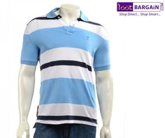 Arrow Sport Polo T-Shirt (Blue & White) For Men   http://www.lootbargain.com/products/men_clothing/mens_casual_wear/india/11928
