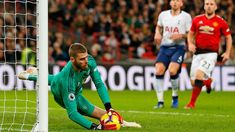 De Gea Produces Masterclass as Manchester United Beat Tottenham The two sides went toe-to-toe in an open game but while both teams had mult. Tottenham Hotspur, Mauricio Pochettino, Premier League Champions, Thing 1, Manchester United Football, Europa League, Goalkeeper, Master Class, Messi