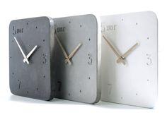 Clock of concrete, Kitchen Clock
