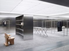 A Merry Mishap: Cool steel in Acne's Illum location