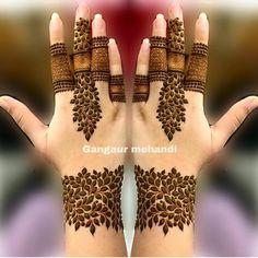Henna Hand Designs, Mehndi Designs Finger, Floral Henna Designs, Henna Tattoo Designs Simple, Latest Bridal Mehndi Designs, Stylish Mehndi Designs, Mehndi Designs 2018, Mehndi Designs For Girls, Mehndi Designs For Beginners