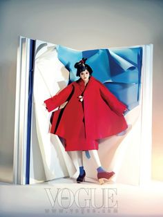 Paper Doll, Vogue Korea August great idea for any story/picture book Fashion Shoot, Fashion Art, Editorial Fashion, High Fashion, Womens Fashion, Fashion Design, Korean Fashion Trends, Asian Fashion, Conceptual Fashion