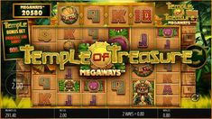 Discover untold riches in Blueprint Gaming's Temple of Treasure Megaways - Return to Player Casino Games, Big Time, Aztec, Gain, Wealth, Slot, Temple, Articles, Deep