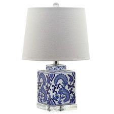 "Dalton 19.5"" H Table Lamp with Empire Shade"