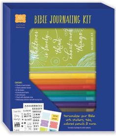 TWO CHANCES TO WIN! This Day Has Great Potential: Bible Journaling Kit {Review & Giveaway x 2} #BibleJournalingKit #FlyBy