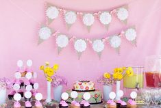 real-baby-shower-pink-woodland-owls