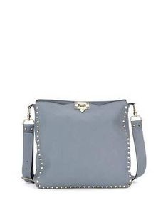 991ee6de0a29 Rockstud Medium Hobo Bag by Valentino at Bergdorf Goodman.