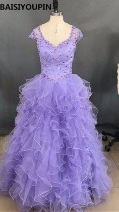 6ffa3c5287c Light Purple Quinceanera Dresses 2016 Vestidos De Debutante 15 Anos Baratos  Ball Gown Sweet 16 Princess