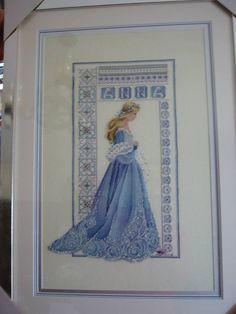 cross stitch conversions celtic lady anna