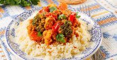 Dal Marocco un piatto fantastico sia caldo che freddo, dal profumo di curry e delle fiabe de Le Mille e Una Notte. Ed è pure light!