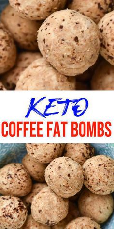Keto fat bombs you won't be able to pass up! {Easy} low carb keto fat bomb recipe for best coffee fat bombs. Perfect for ketogenic diet w/ keto friendly ingredients. Great keto snacks on the go, keto dess Desserts Keto, Keto Snacks, Dessert Recipes, Dessert Ideas, Ketogenic Recipes, Low Carb Recipes, Ketogenic Diet, Healthy Recipes, Ketogenic Breakfast