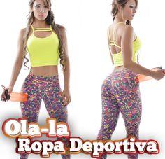 Ola-laRopaDeportiva.  Conjunto deportivo en pantalón tipo pitillo con estampados, top largo, en un solo color con tiras sobre el escote. Que marcan tu figura haciéndote lucir sexy y deportiva. Contáctanos por WhatsApp al 318 8278826 Cali, Colombia.  Visita nuestra página: http://www.ola-laropadeportiva.com/…/84-conjunto-deportivo-…  #Pantalón #Pitillo #Top #Ropadeportiva #Fitness #Colombia