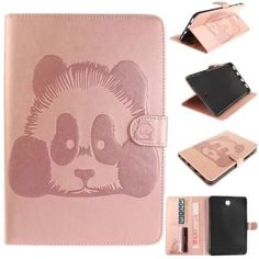 Cool Samsung Galaxy Tab 2017: For Samsung Galaxy Tab S2 8.0 T710 Cases Wallet Panda Pattern Leather Flip Stand...  planshetpipo