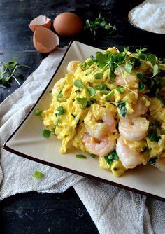 Stir-fried Shrimp and Eggs Recipe by thewoksoflife.com