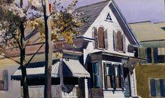 Edward Hopper - Marty Welch's House (Gloucester) (1928)