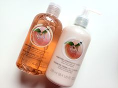Everything's Peachy - The Body Shop Vineyard Peach Range