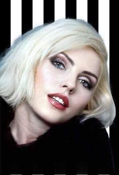 Debbie Harry Hair, Blondie Debbie Harry, Debbie Harry Now, Billie Holiday, Grey Blonde Hair, Female Singers, Classic Beauty, Portrait, Hair Makeup