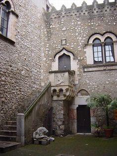 Taormina Palazzo Corvaia  Tour of Sicily Italy