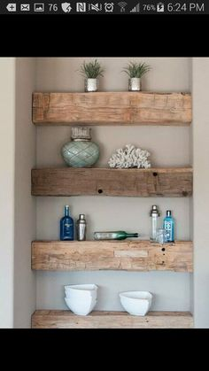 5 Best Clever Tips: How To Build Floating Shelves Products floating shelves living room industrial.Floating Shelves With Drawers Subway Tiles floating shelves with drawers subway tiles.Floating Shelves Nursery Home Office. Rustic Wood Shelving, Timber Shelves, Reclaimed Wood Shelves, Repurposed Wood, Salvaged Wood, Barn Wood Shelves, Reclaimed Wood Vanity, Reclaimed Timber, Weathered Wood