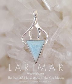 This is the beautiful and very rare, sky blue Larimar crystal that is found in only one place in the world, the Dominican Republic. Larimar is also known as the dolphin stone. Larimar brings the tranquility and healing energy of the ocean to the heart and mind. Larimar represents peace and clarity, it radiates healing and loving energy. #larimar #healing #dolphins #ocean #sea #crystals #atlantis