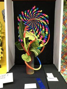 Visit the post for more. Art Floral, Floral Designs, Art Designs, Flower Arrangements Simple, Razzle Dazzle, Garden Club, Expo, Flower Show, Mix Media